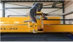 2D plazmový horák pre dokonalé rezanie:::Rezací stroj MG je vybavený rýchlym a presným 2D plazmovým horákom od firmy Kjellberg, ktorý zabezpečuje vysokú kvalitu rezu a hladké rezné plochy. To znamená ekonomické rezanie, ktoré si nevyžaduje takmer žiadne prepracovanie.