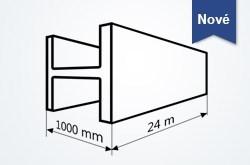 Spracovanie 3D profilov a nosníkov do výšky 1000 mm a dĺžky 24 m